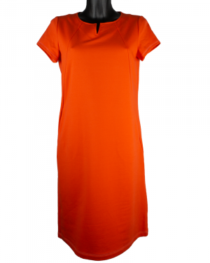 B-Three jurk Audrey orange