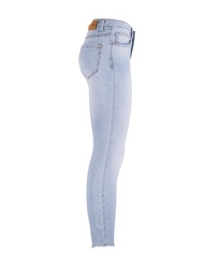 Red Button Sofie skinny side